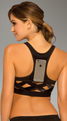 Photo of Stow and Go Cage Sports Bra @EX4.NL Exclusive Lingerie