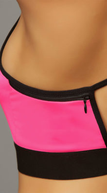 Photo of Stow and Go Hot Pink Sports Bra @EX4.NL Exclusive Lingerie