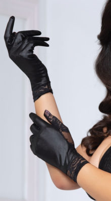 Photo of Intriguing Intentions Lace Gloves @EX4.NL Exclusive Lingerie