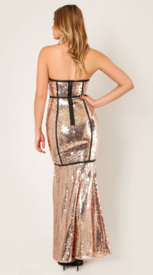 Photo of Mae Starstruck Sequins Gown @EX4.NL Exclusive Lingerie