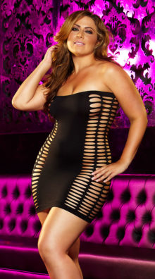 Photo of Plus Size Naughty Girl Mini Dress @EX4.NL Exclusive Lingerie