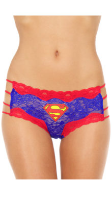 Photo of Plus Size Superman Hipster Panty @EX4.NL Exclusive Lingerie