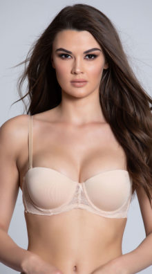 Photo of EX4 Get Kissed Nude Lace Bra @EX4.NL Exclusive Lingerie