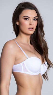Photo of EX4 Get Kissed White Lace Bra @EX4.NL Exclusive Lingerie