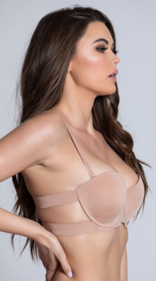 Photo of EX4 Nude Strappy Solution Bra @EX4.NL Exclusive Lingerie