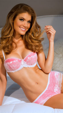 Photo of EX4 Whoopsie Daisy Pink Multi-Way Bra @EX4.NL Exclusive Lingerie