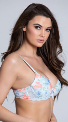 Photo of EX4 Sweet On You Floral Bra @EX4.NL Exclusive Lingerie