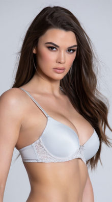 Photo of EX4 Sweet On You Grey Bra @EX4.NL Exclusive Lingerie