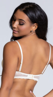 Photo of EX4 The Tyra Multi-way Ivory Bra @EX4.NL Exclusive Lingerie