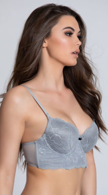Photo of EX4's The Candice Multiway Grey Bra @EX4.NL Exclusive Lingerie