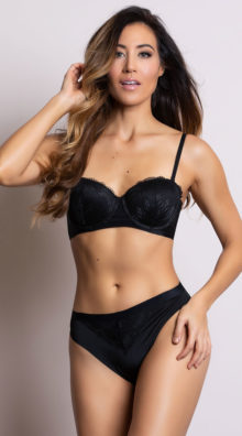 Photo of EX4 Sleek and Chic Black Cheeky Panty @EX4.NL Exclusive Lingerie