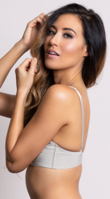 Photo of EX4 Sleek and Chic Multiway Nude Bra @EX4.NL Exclusive Lingerie