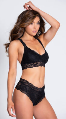 Photo of EX4 Never Let Me Go Black Hipster Panty @EX4.NL Exclusive Lingerie