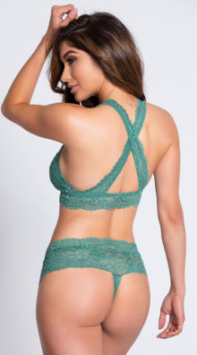 Photo of EX4 Never Let Me Go Green Hipster Panty @EX4.NL Exclusive Lingerie