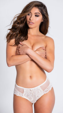 Photo of EX4 The Edita White Hipster Panty @EX4.NL Exclusive Lingerie