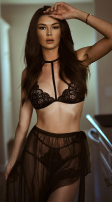 Photo of EX4 Babe Time Bralette and Skirt Set @EX4.NL Exclusive Lingerie