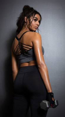 Photo of EX4 Multi-Strapped Sports Bra @EX4.NL Exclusive Lingerie