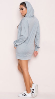 Photo of EX4 Elongated Hoodie @EX4.NL Exclusive Lingerie