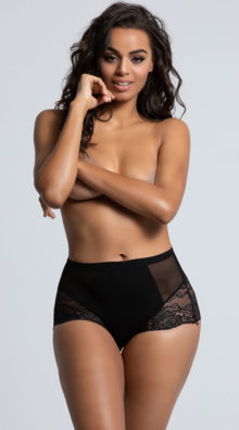 Photo of EX4 High Waisted Power Mesh Panty @EX4.NL Exclusive Lingerie