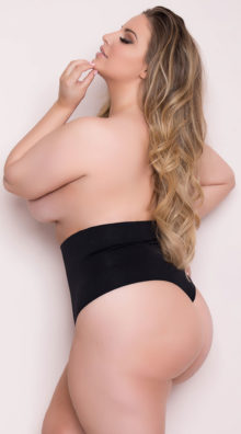 Photo of EX4 Plus Size Seamless Shaping Thong @EX4.NL Exclusive Lingerie