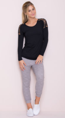 Photo of EX4 Relaxed Jogger Capris @EX4.NL Exclusive Lingerie