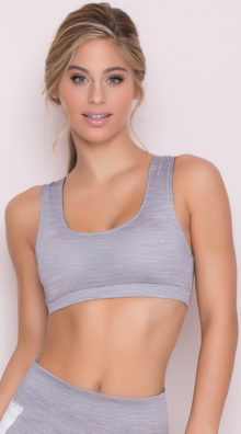 Photo of EX4 Lace-Up Sports Bra @EX4.NL Exclusive Lingerie