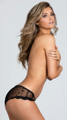 Photo of EX4 Seeing Stars Mesh Panty @EX4.NL Exclusive Lingerie